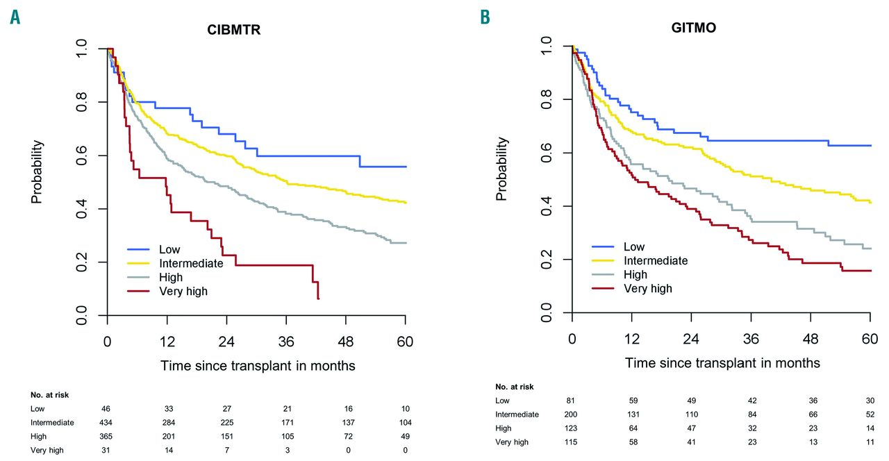 Optimized Ebmt Transplant Specific Risk Score In Myelodysplastic Syndromes After Allogeneic Stem Cell Transplantation Haematologica